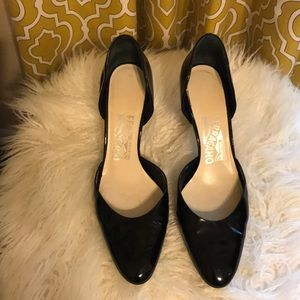 Salvatore Ferragamo 7 Black heel